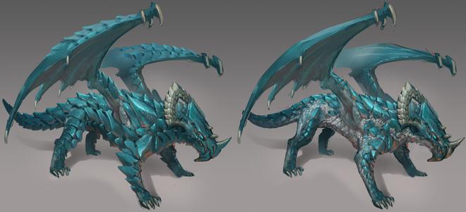 Rune dragon concept art news image