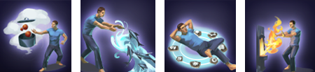Arcane skill animations concept art