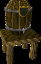 Cider barrel built