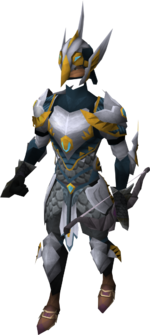 Ranged weapons trader