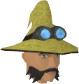 Runecrafter hat (yellow, goggles off) chathead
