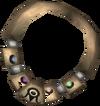 Alchemist's amulet (uncharged) detail