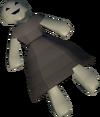 Creepy doll detail