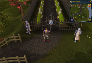 Emote clue Bow Curtsy Legends' Guild