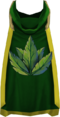 Hooded herblore cape (t) detail