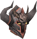 Malevolent helm chathead