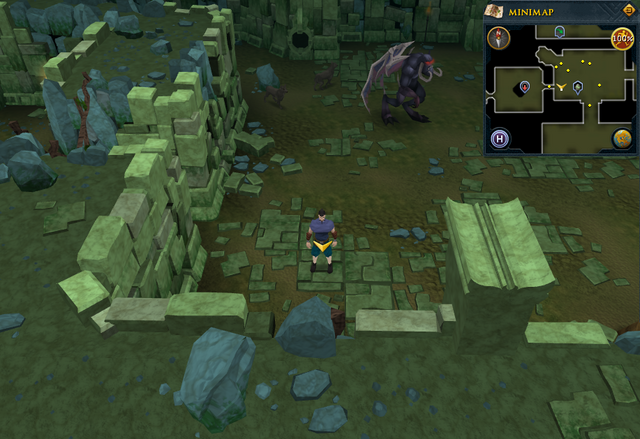 File:Scan clue Brimhaven Dungeon lower level between the vines and Summoning obelisk.png
