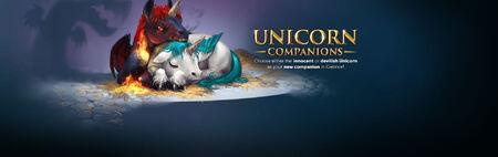 Unicorn Companion banner