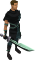 Adamant ceremonial sword II equipped.png