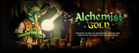 Alchemist's Amulet banner