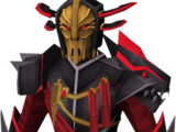 Black Knight captain's armour