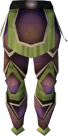 Carapace legs detail