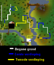 Doolhof plattegrond