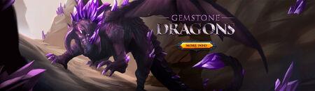 Gemstone Dragons head banner