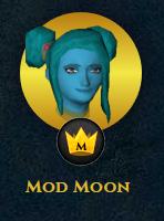Jagex-Moderator Mod Moon Avatar