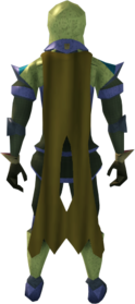 Lunar cape (yellow) equipped