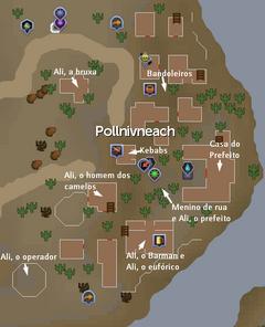 Mapa Pollnivneach