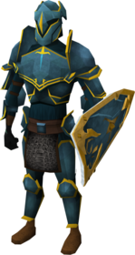 Rune armour set (g) equipped