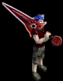 Zaros godsword (blood) equipped