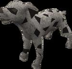 Dalmatian puppy (black) pet