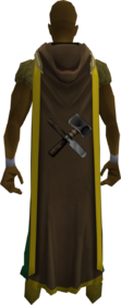 Hooded crafting cape (t) equipped