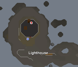 Lighthouse (music track) location