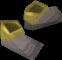 Pharaoh's sandals (yellow, male) detail