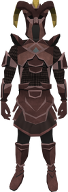 Promethium chain armour set (sk) (male) equipped
