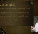 Cave goblin technology tree