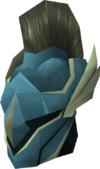 Rune full helm (Armadyl) detail