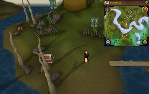 Scan clue Tirannwn south of Elf Camp