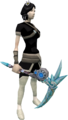 Augmented crystal pickaxe equipped.png