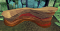 Crystal-flecked sandstone mine (Edimmu resource dungeon) depleted.png