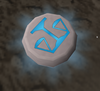 Glowing law rune detail