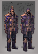 Invictum armour concept art