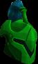 Rune heraldic helm (Guthix) chathead