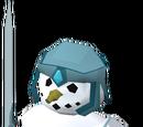 Snow warrior