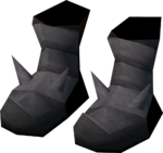 Vanguard boots detail