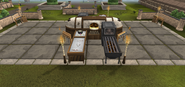 Barbecue tier 2
