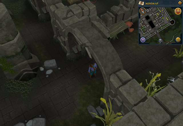 File:Compass clue Canifis entrance of banshees at Slayer Tower.png