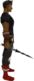 Drygore rapier (Third Age) equipped