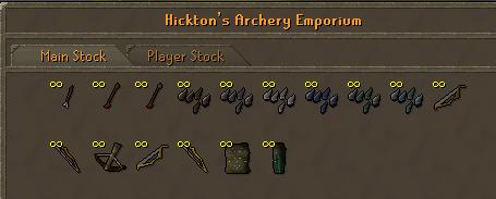 Hicktons archery emporium