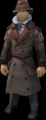 Investigator uniform equipped