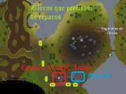 O canhão dos anões mapa 1