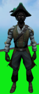 Privateer Outfit (male) equipped
