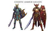 Raptor's armour concept art