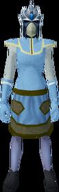 Reinforced slayer helmet (ef) equipped