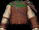 Robin Hood tunic detail