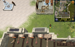 Scan clue Falador north of Artisan's Workshop
