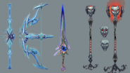 Telos God weapons concept art